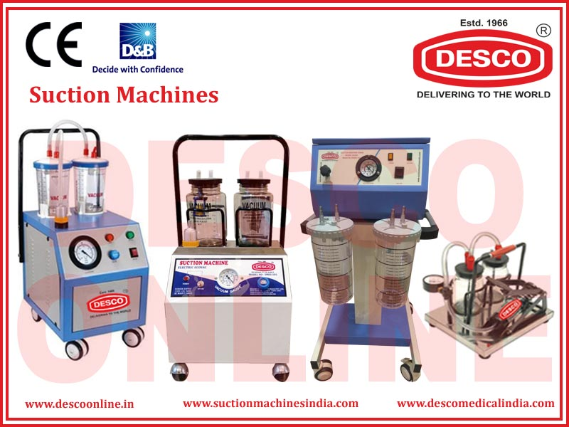SUCTION MACHINES