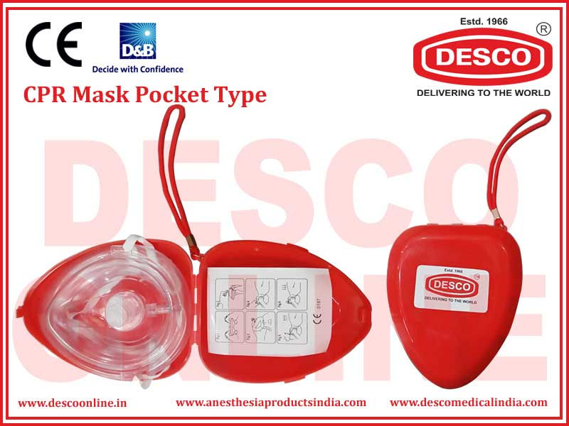 CPR MASK POCKET TYPE