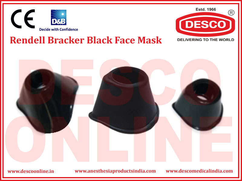 RENDELL BRACKER BLACK FACE MASK
