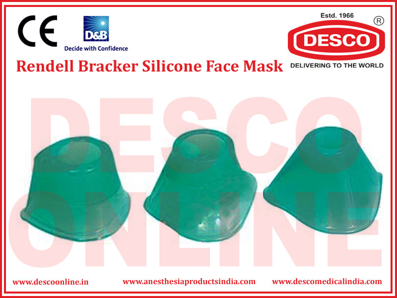 RENDELL BRACKER SILICONE FACE MASK