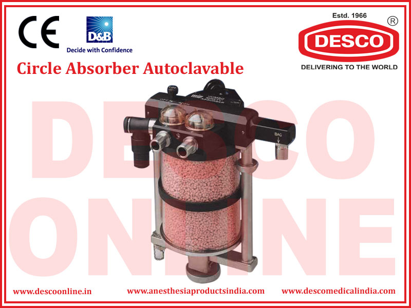 CIRCLE ABSORBER AUTOCLAVABLE