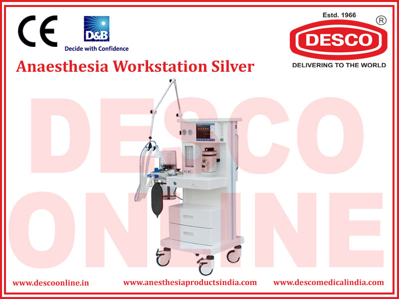 ANAESTHESIA WORKSTATION  SILVER