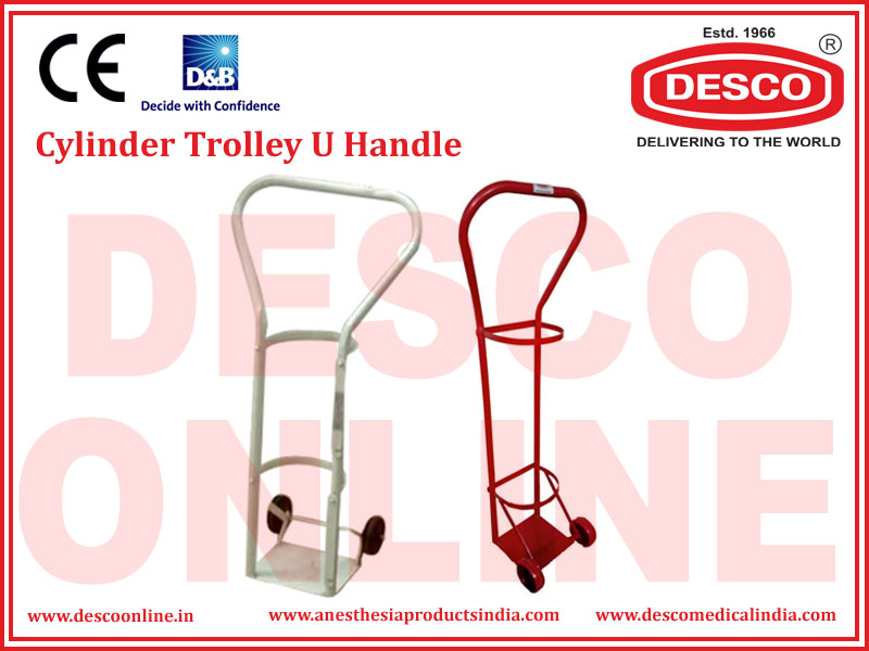 CYLINDER TROLLEY U HANDLE