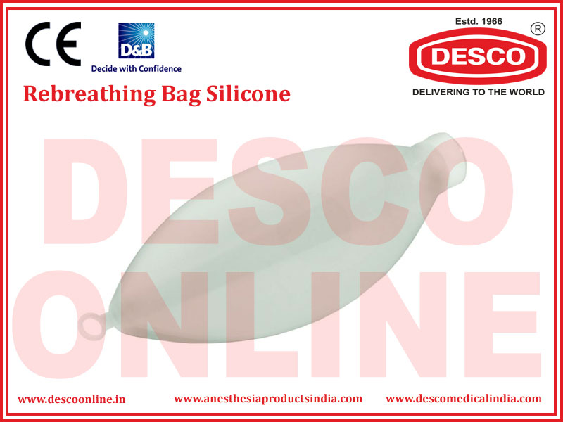REBREATHING BAG SILICONE