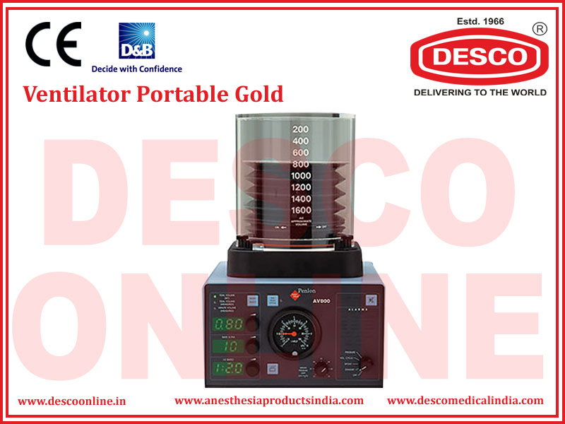 VENTILATOR PORTABLE GOLD