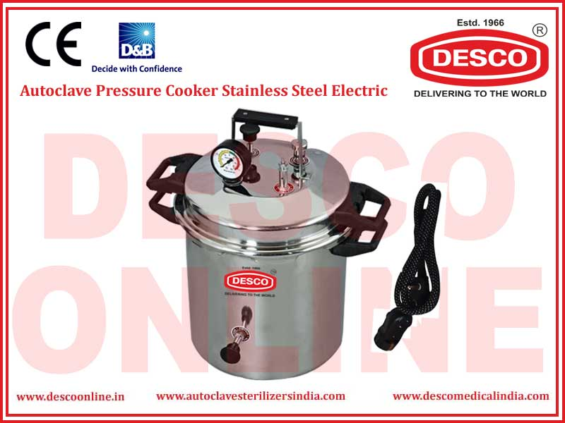 AUTOCLAVE PRESSURE COOKER STAINLESS STEEL ELECTRIC
