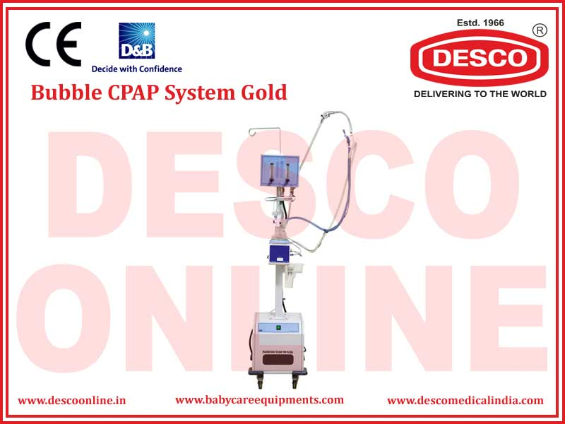 BUBBLE CPAP SYSTEM GOLD