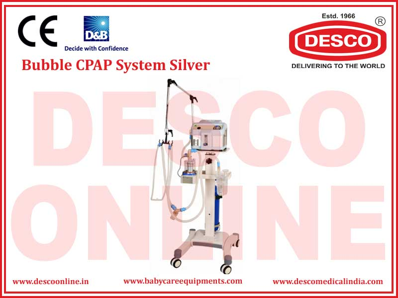 BUBBLE CPAP SYSTEM SILVER