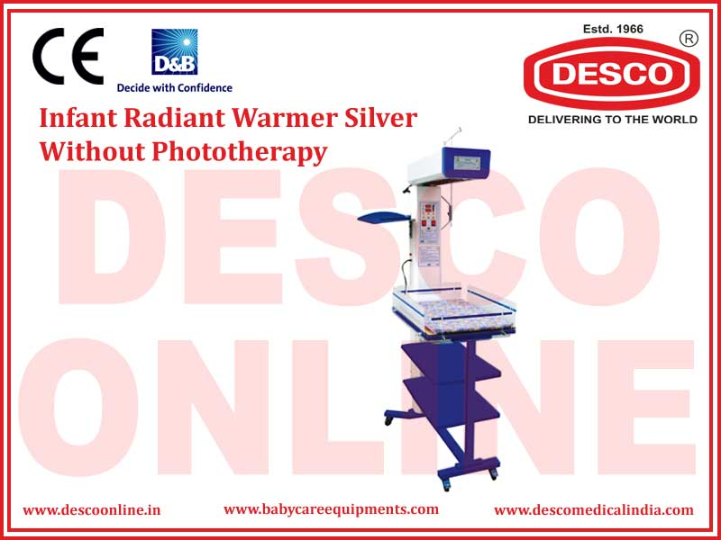 INFANT RADIANT WARMER SILVER WITHOUT PHOTOTHERAPY