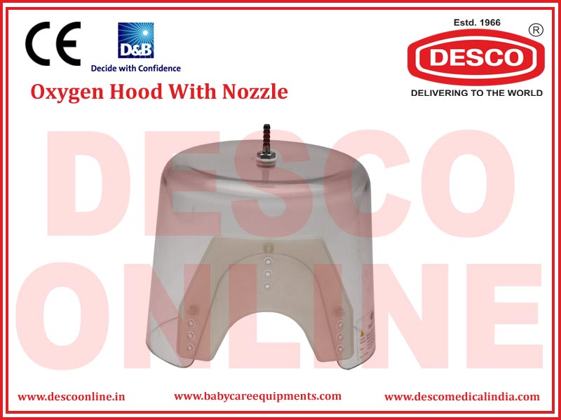 OXYGEN HOOD WITH NOZZLE