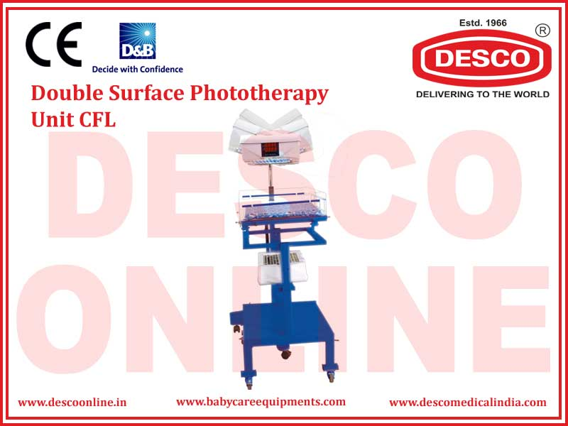 DOUBLE SURFACE PHOTOTHERAPY UNIT CFL