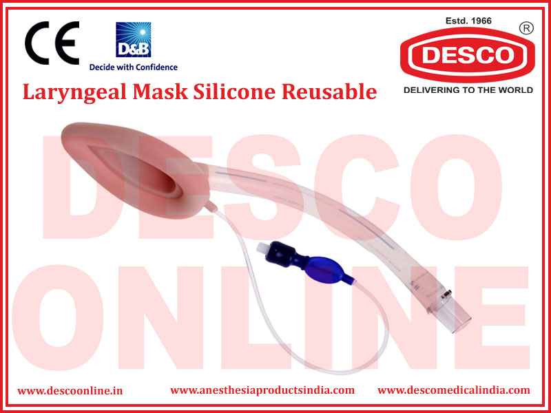 LARYNGEAL MASK SILICONE REUSABLE