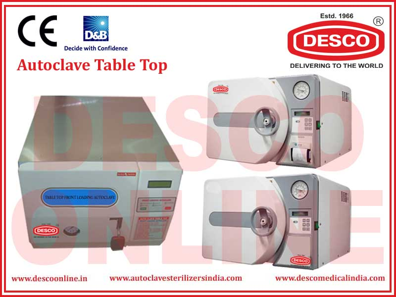 AUTOCLAVE TABLE TOP