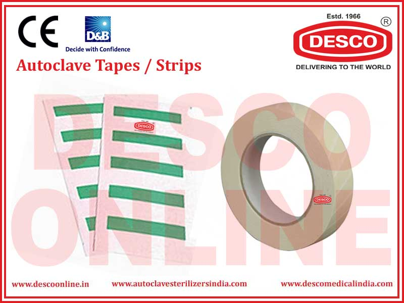 AUTOCLAVE TAPES / STRIPS