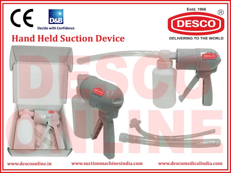 HAND HELD SUCTION DEVICES