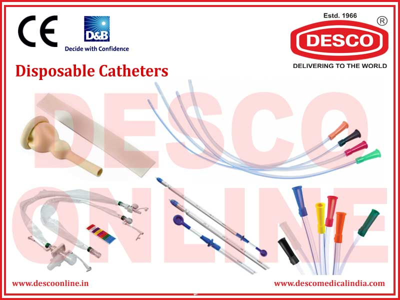 DISPOSABLE CATHETERS