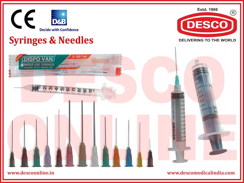 SYRINGES & NEEDLES