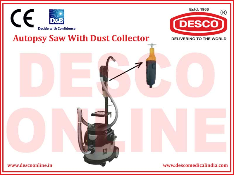 AUTOPSY SAW WITH DUST COLLECTOR