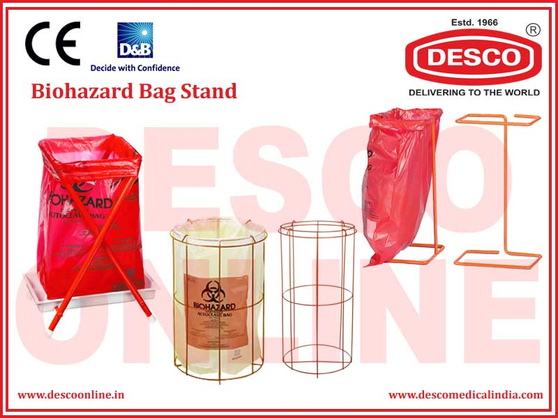 BIOHAZARD BAG STAND