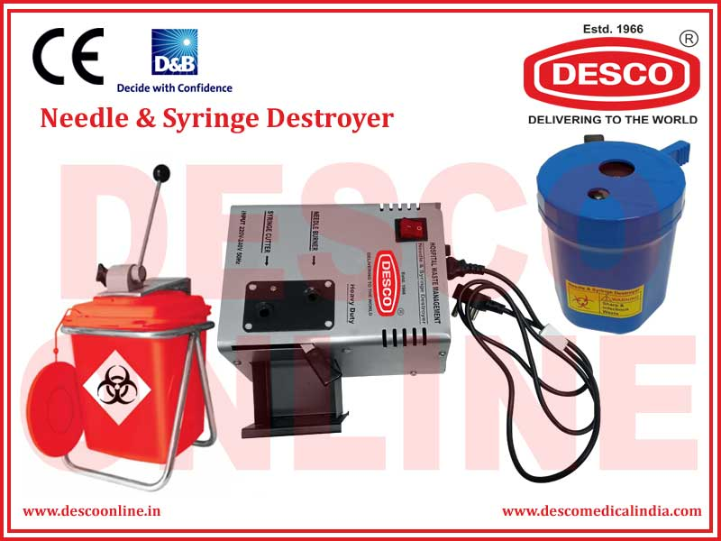 NEEDLE & SYRINGE DESTROYER