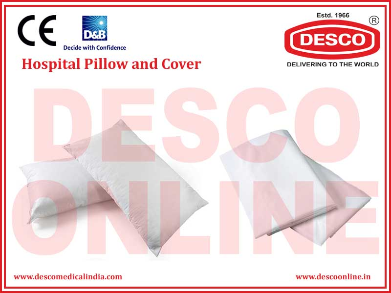 HOSPITAL PILLOW AND COVER