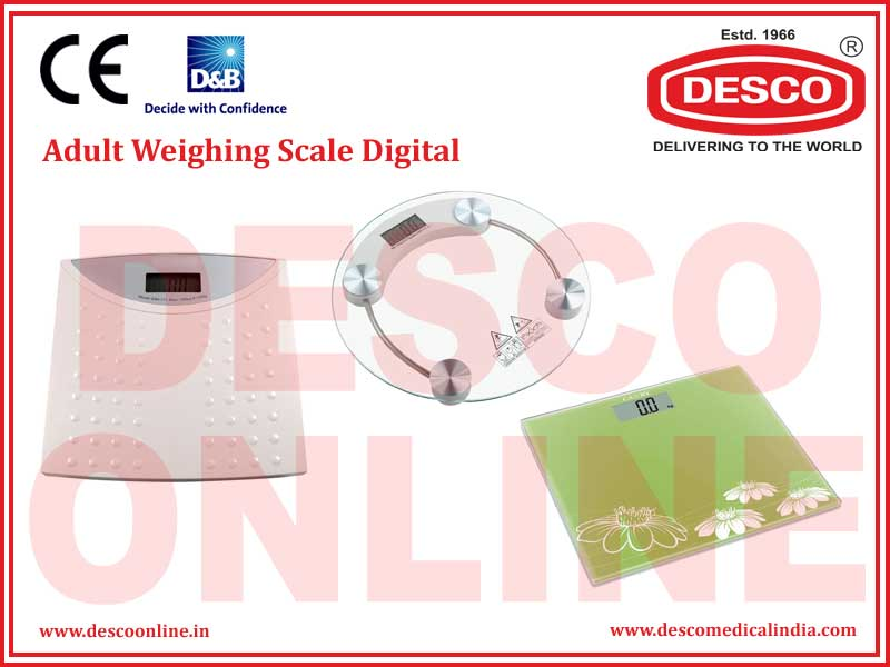 ADULT WEIGHING SCALE DIGITAL