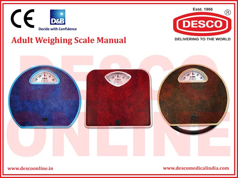 ADULT WEIGHING SCALE MANUAL