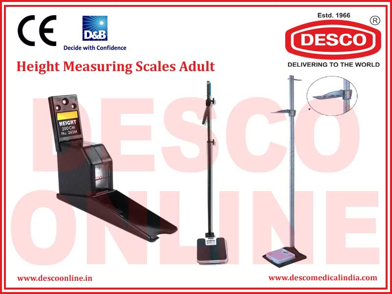 HEIGHT MEASURING SCALES ADULT