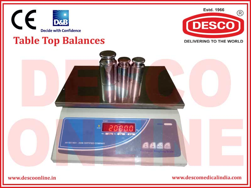 TABLE TOP BALANCES