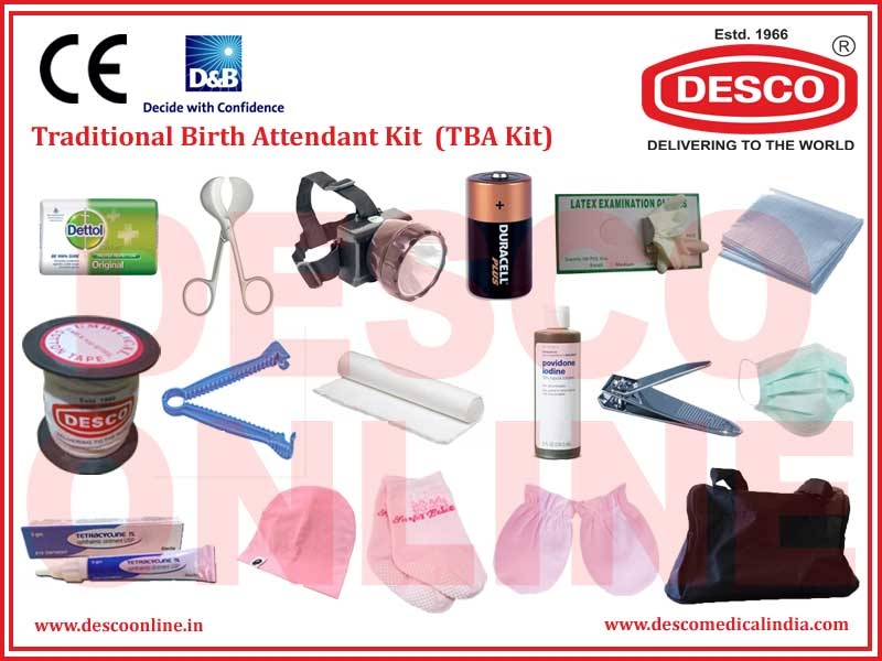TRADITIONAL BIRTH ATTENDANT KIT  (TBA KIT)