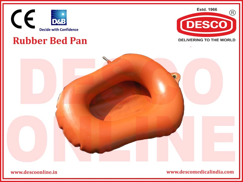 RUBBER BED PAN