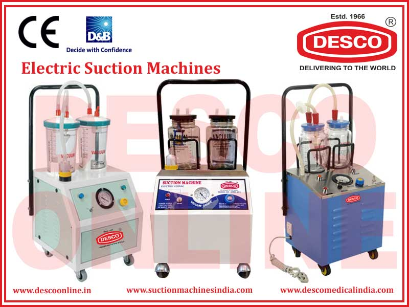 ELECTRIC SUCTION MACHINES