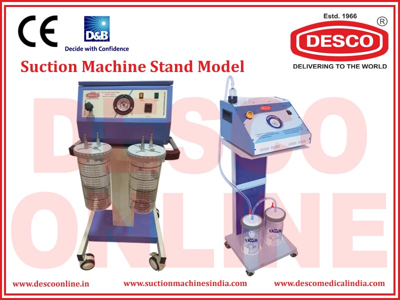 SUCTION MACHINE STAND MODEL